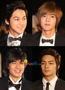 Korean F4 of Boys Over Flowers