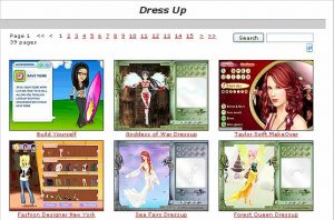Girl's Dress Up Games
