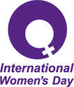International Women's Month Day logo