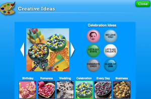 More Creative Ideas from M&M's