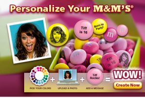 Personalize Your M&Ms