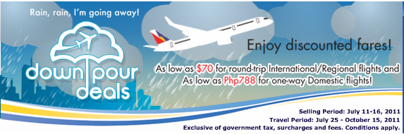 Philippine Airlines Discount Fare Promos