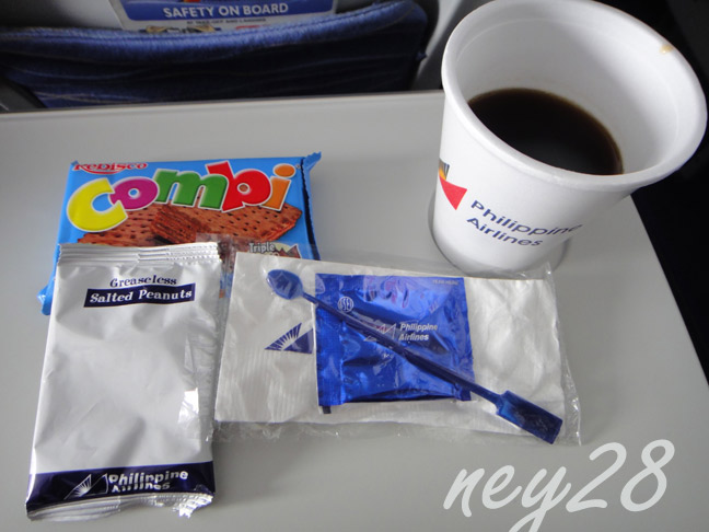 Our Snack from Philippine Airlines