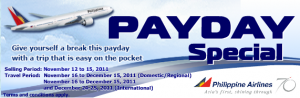 Philippine Airlines Payday Special