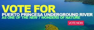 Support Puerto Prinsesa Underground River as one of the New 7 Wonders of Nature