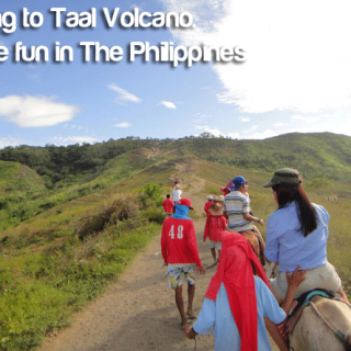 Going to Taal Volcano