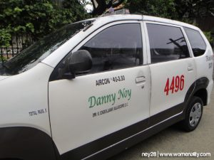 Taxi for Hire in Cebu