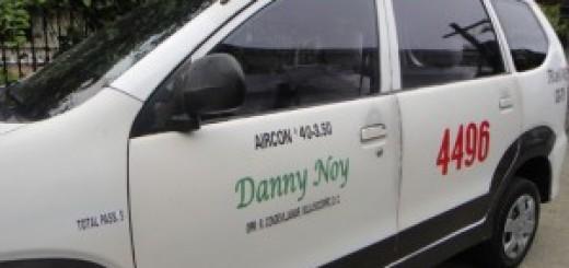 Danny Noy Taxi for Hire Cebu City