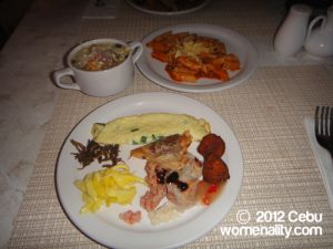 Port Restaurant Cebu - pasta, omelet and more