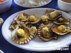 SUTUKIL Eateries at Mactan Shrine - Baked Scallops