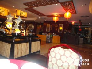 Inside Wang Shan Lo Chinese Restaurant, Crown Regency Cebu