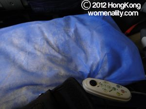Boeing B747-400 Philippine Airlines Pillow and Controller