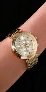 Big Gold Watch