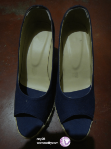 blue espadrille shoes