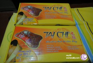 Tai ChI Electric Hot Bag Box