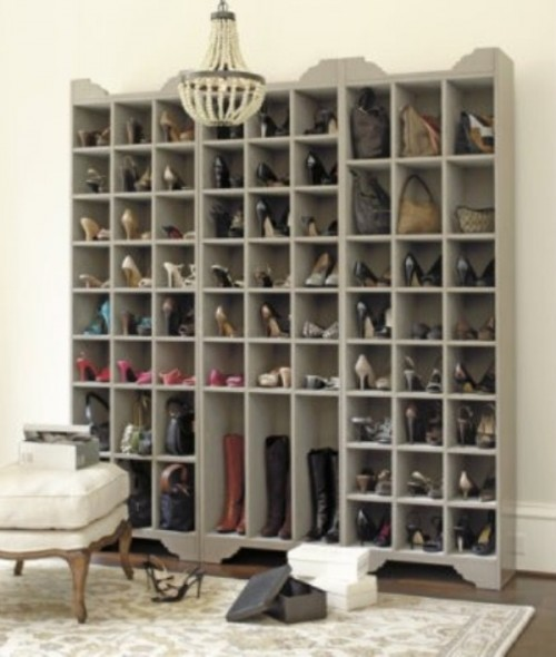 shoes and bags cabinet