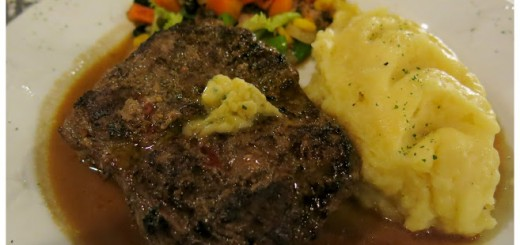Steak at Hill Station, Baguio Philippines