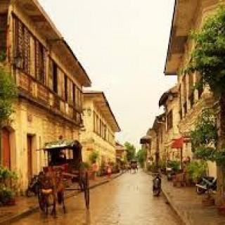 Vigan Plaza, Ilocos Philippines